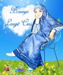 jilbab-biru