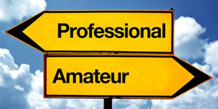 profesional vs amatir
